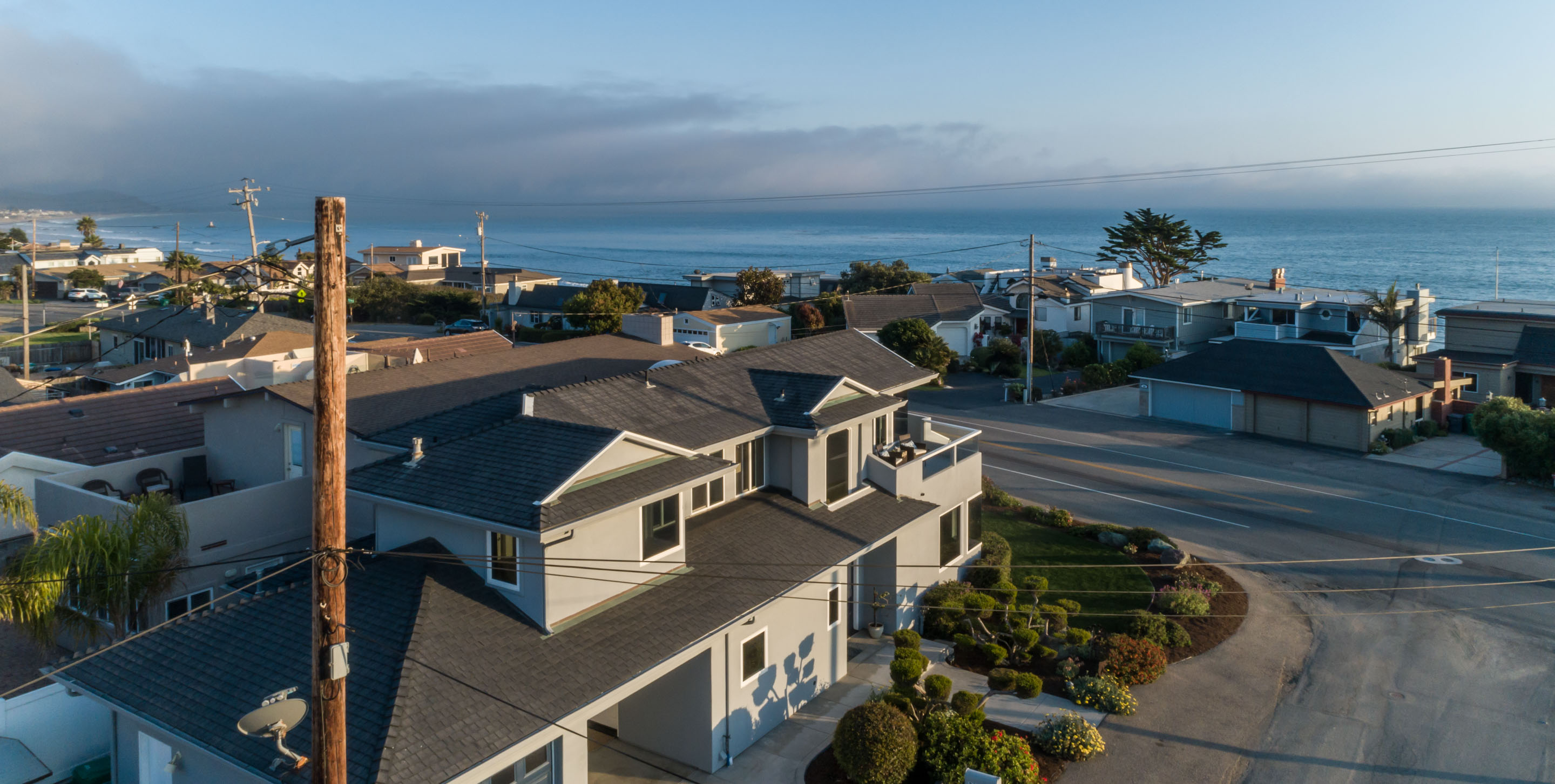 Coastal View Home For Sale Walk to Ocean Pacific Ave Cayucos Ca 93430