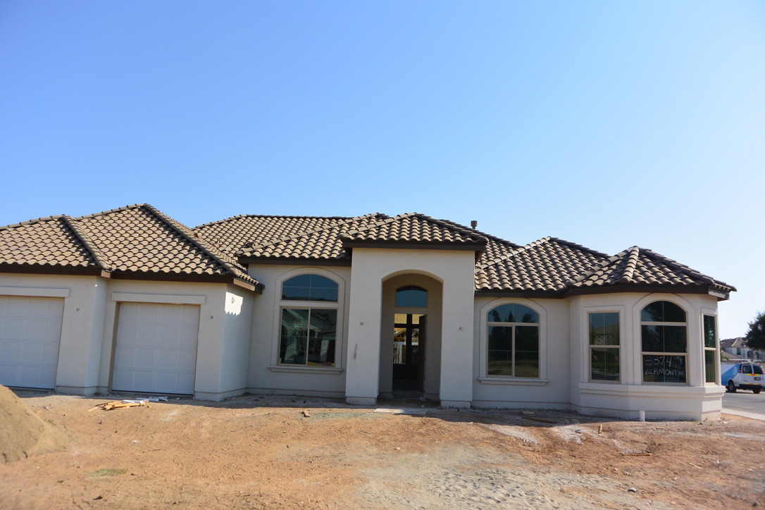 Clovis Home Construction Booming West of Harlan Ranch Clovis CA 93619