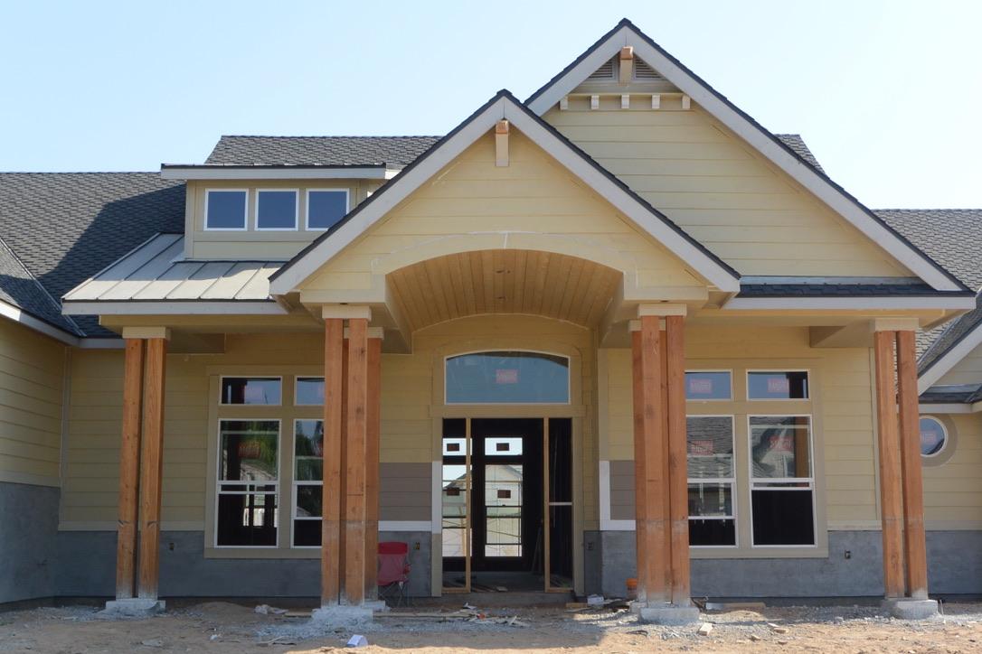 Clovis Home Construction Booming West of Harlan Ranch Clovis CA 93619